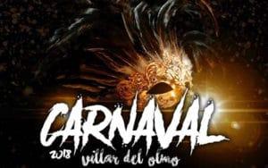 Cartel del Carnaval de Villar del Olmo (Fuente: Ayuntamiento de Villar del Olmo)