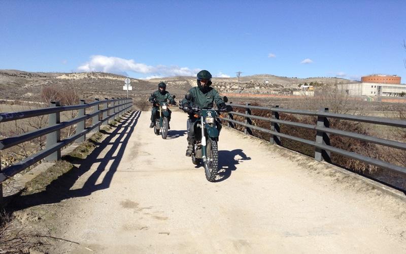 Agentes del Seprona patrullando en Rivas (Fuente: Diario de Rivas)