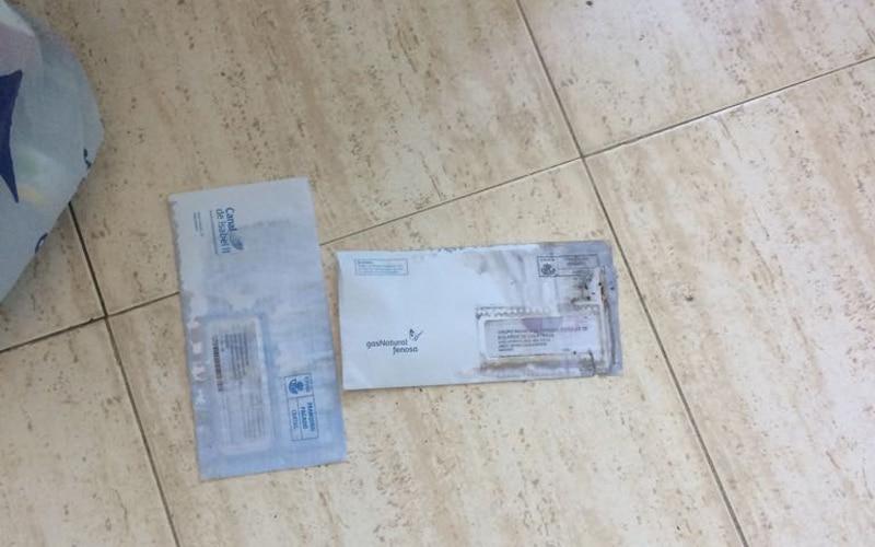 Cartas con orines en la sede del PP de Rivas Vaciamadrid