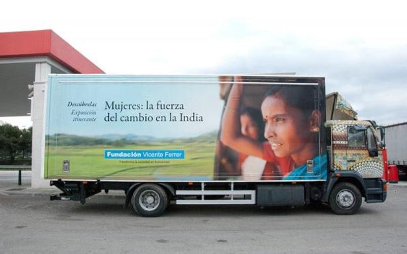 Exposición 'Mujeres. La fuerza del cambio' (Fuente: Fundación Vicente Ferrer)