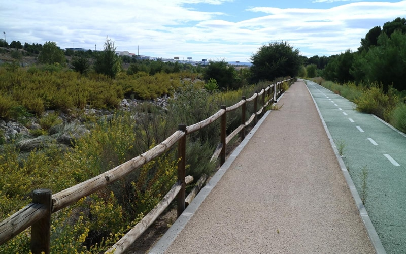 Una ciclovía para unir el Retiro con la Vía Verde del Tajuña