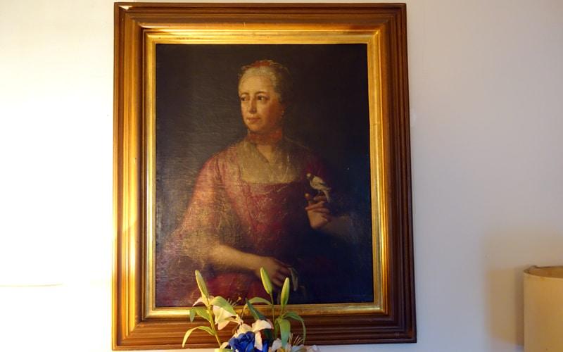 Retrato familiar de los duques de Rivas en el antiguo convento mercedario (Autor: Vicente Núñez)