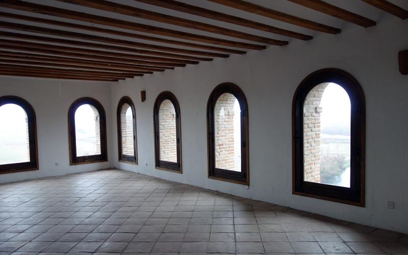 Estancia rehabilitada del antiguo convento mercedario anexo al Cristo de Rivas (Autor: Vicente Núñez)
