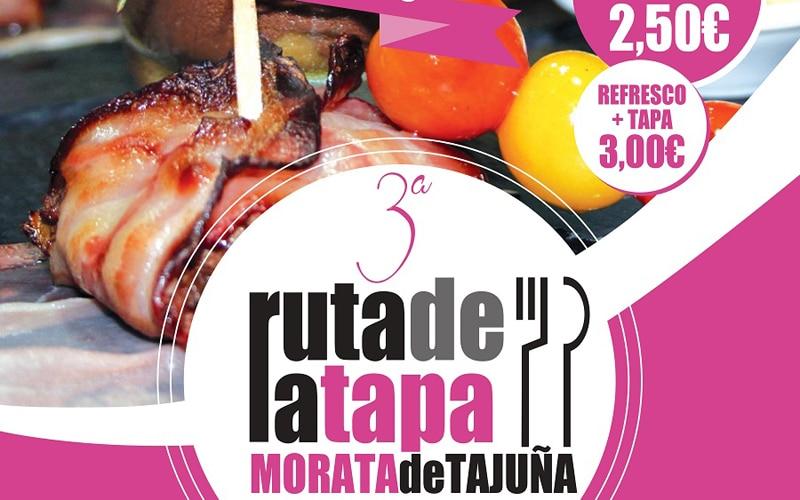 Cartel de la ruta de la tapa de Morata de Tajuña (Fuente: Ayuntamiento de Morata de Tajuña)