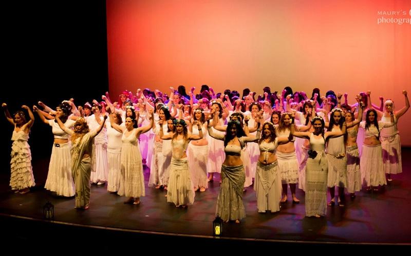 Espectáculo de danza oriental (Fuente: Ayuntamiento de Rivas Vaciamadrid)