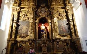 Retablo de la capilla del Cristo de Rivas (Autor: Vicente Núñez)