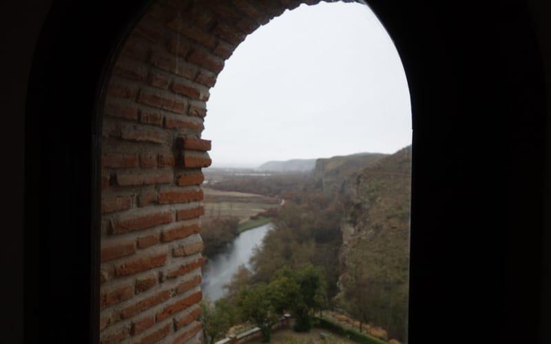 Vistas desde el antiguo convento mercedario anexo al Cristo de Rivas (Autor: Vicente Núñez)