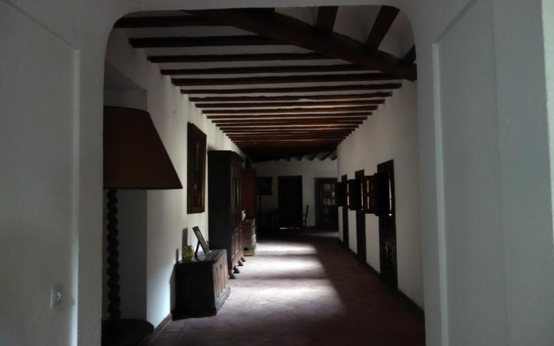 Estancia rehabilitadas del antiguo convento mercedario anexo al Cristo de Rivas