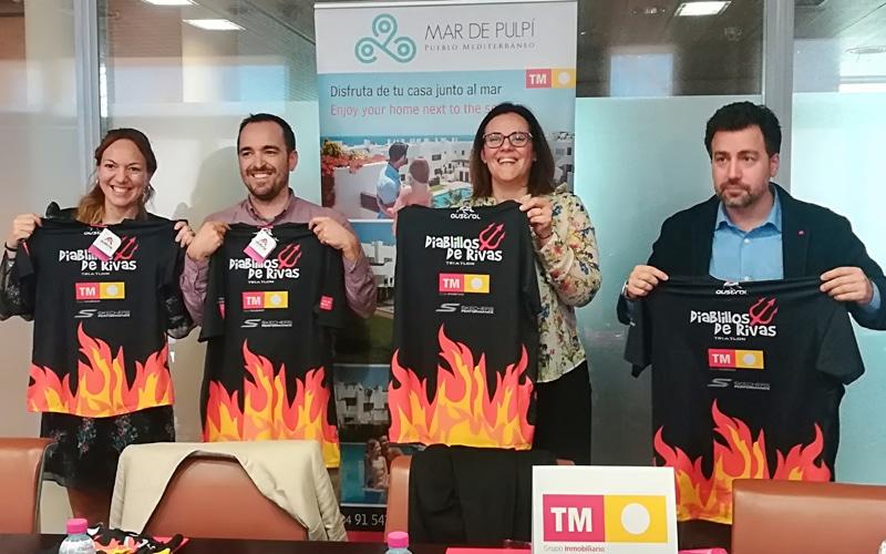 TM Grupo Inmobiliario, nuevo patrocinador de Diablillos de Rivas