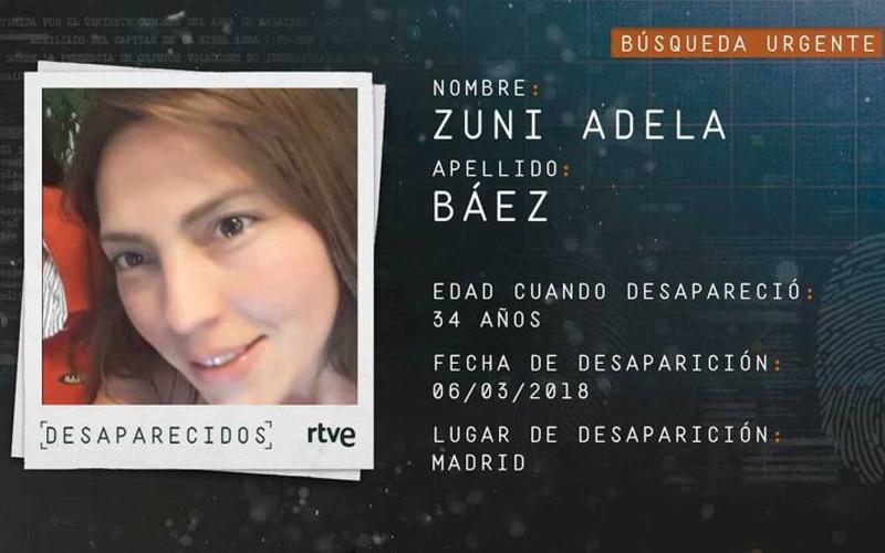 La Guardia Civil pide colaboración ciudadana para encontrar a Zuni Adela Báez, vista en Rivas por última vez