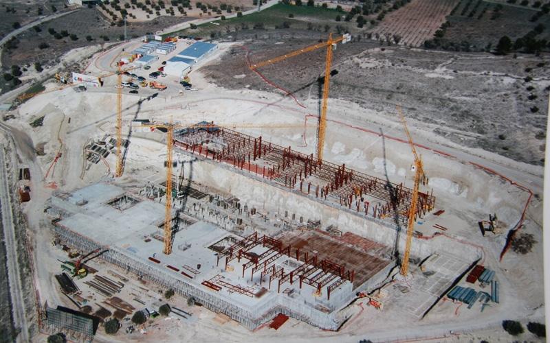 Obras de construcción del hospital del Sureste (Fuente: Comunidad de Madrid)