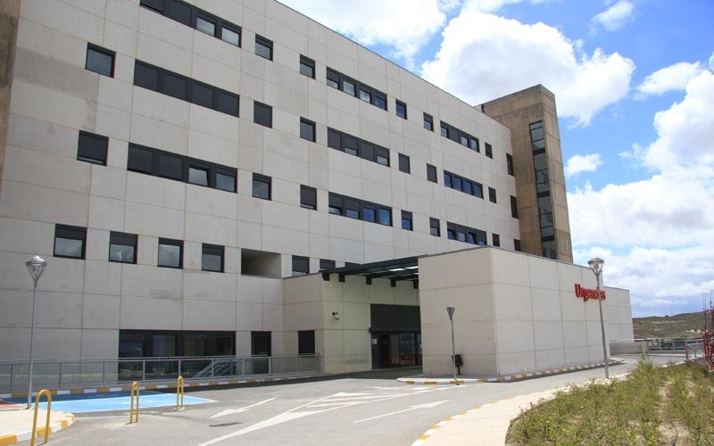 Acceso de urgencias del hospital del Sureste (Fuente: Comunidad de Madrid)