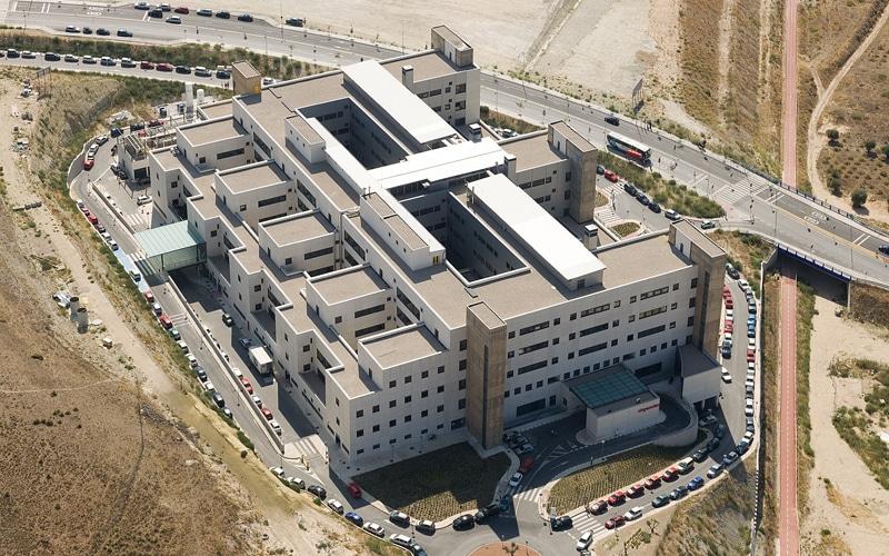 Foto aérea del hospital del Sureste (Fuente: Comunidad de Madrid)