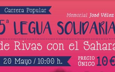 Llega a Rivas la 5ª edición de la Legua Solidaria