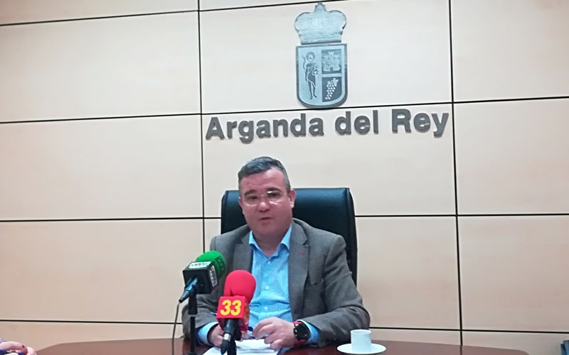 Guillermo Hita, alcalde de Arganda del Rey
