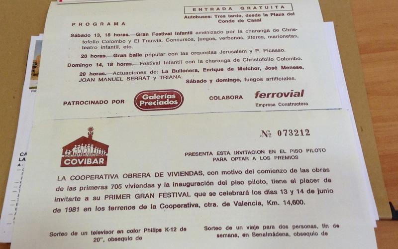 Publicidad histórica de Covibar