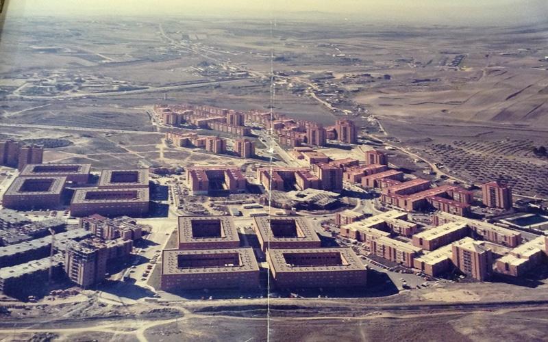Foto aérea histórica de Covibar (Fuente: Covibar)