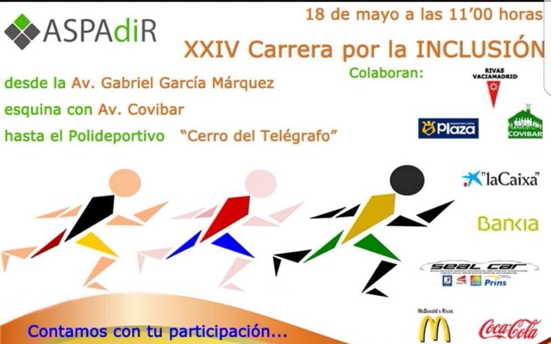 Aspadir celebra la XXIV Carrera por la Inclusión con más de 1.500 participantes inscritos