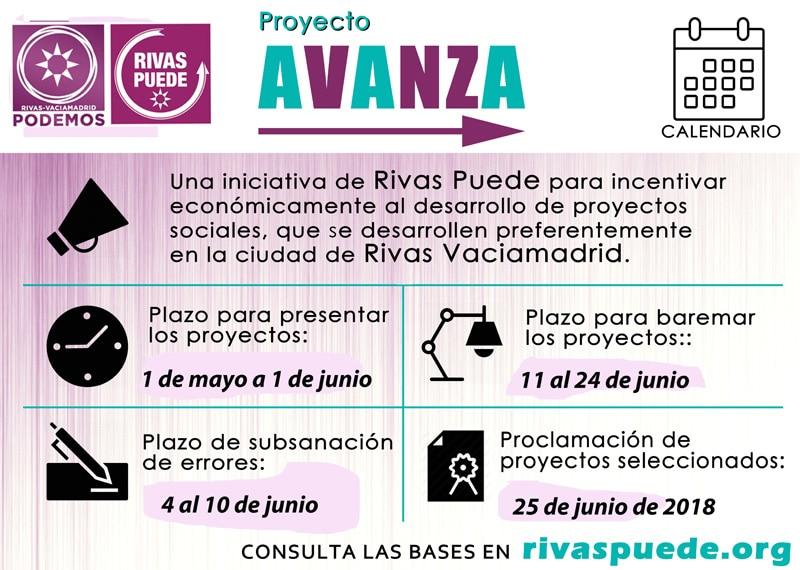 Calendario 2 Proyecto Avanza