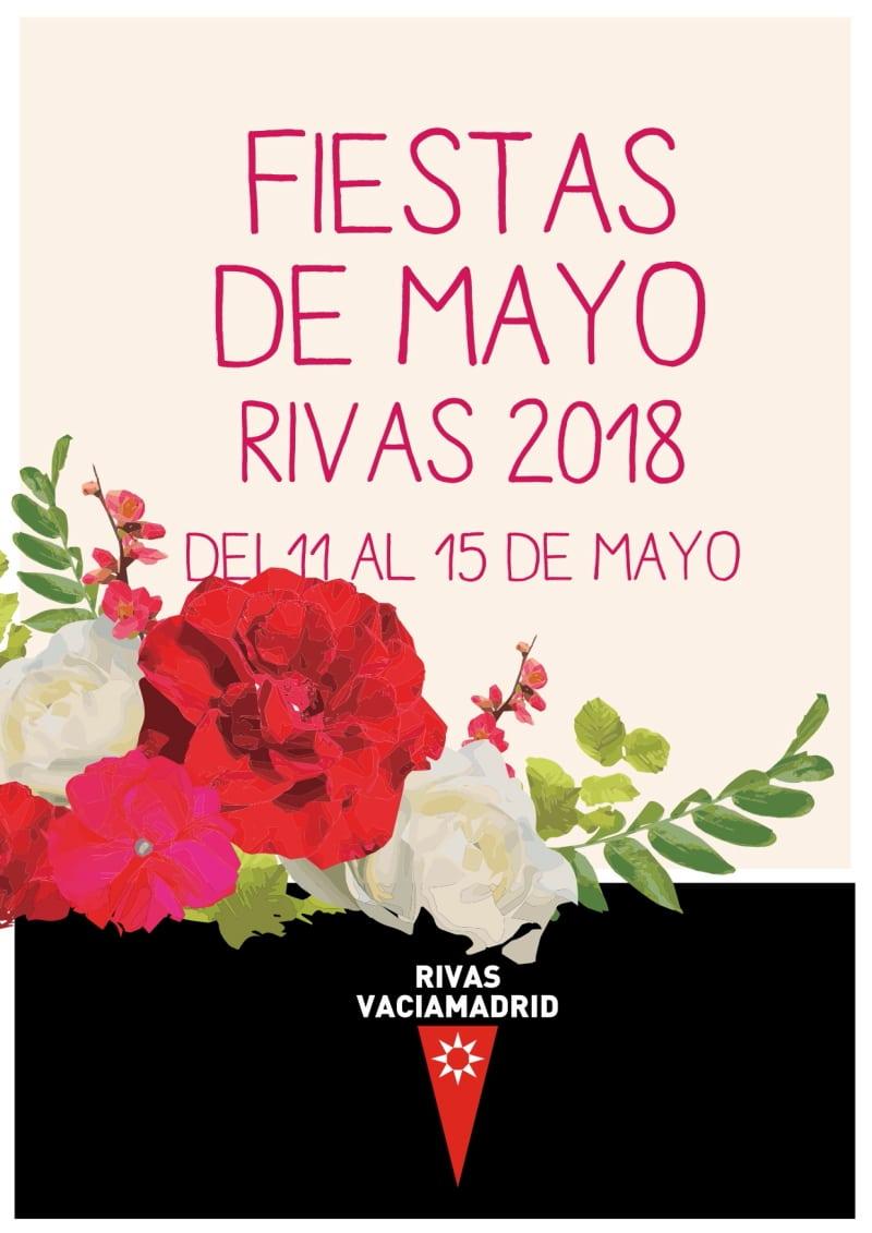 Cartel Fiestas de Rivas 2018.