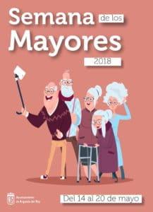 Cartel Semana de los Mayores 2018 de Arganda del Rey.