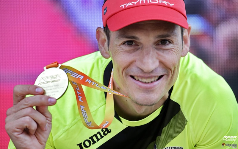 Enrique Meneses, campeón de España de trail running