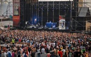Fiestas de Rivas concierto en el auditorio Miguel Ríos