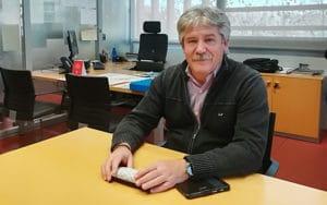 José María Álvarez, concejal de Medio Ambiente de Rivas Vaciamadrid