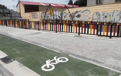 Así es el nuevo parque junto al colegio Mario Benedetti