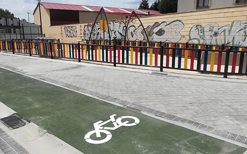 Los dos carriles bici aprobados en los Presupuestos Participativos de 2018 de Rivas, aún sin fecha de finalización