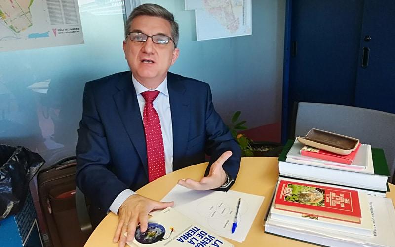 Antonio de la Peña, concejal del PP en Rivas Vaciamadrid