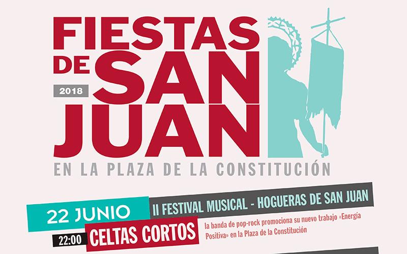 Celtas Cortos y Luar Na Lubre actuarán en las Fiestas de San Juan