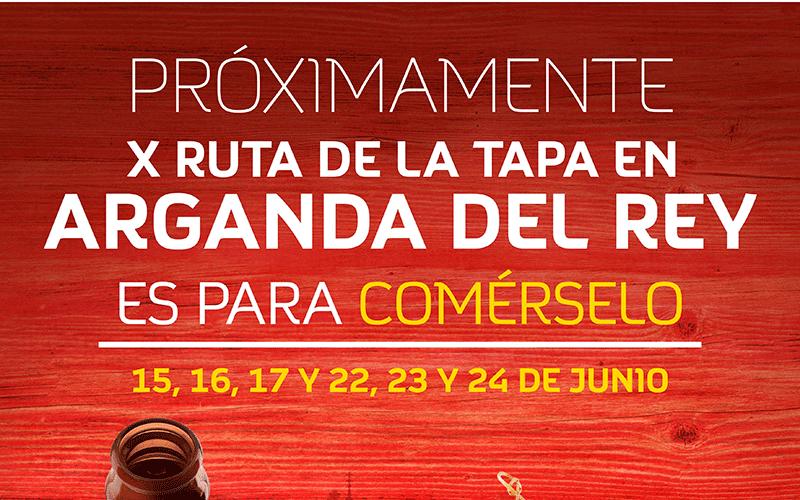 Arganda del Rey celebra su X Ruta de la Tapa