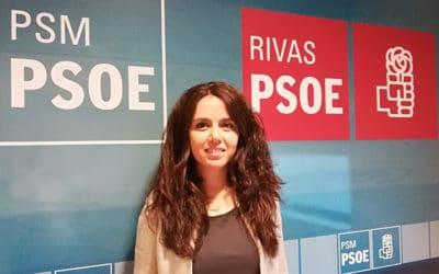 """Mónica Carazo, secretaria general del PSOE de Rivas: """"Las pataletas no se pueden consentir en política"""""""