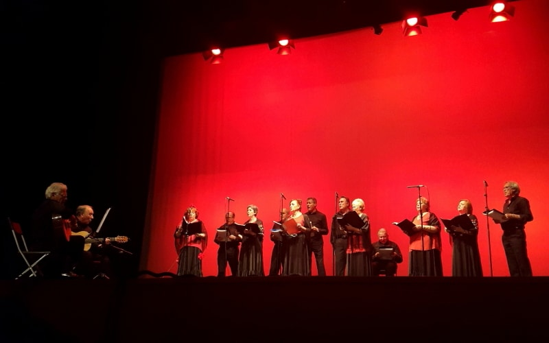 El coro clásico español formado por personas mayores. Imagen facilitada por el Ayuntamiento.