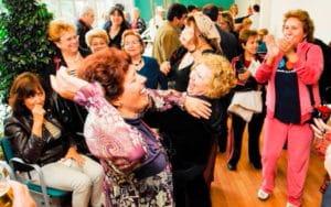 Imagen de una fiesta dedicada a las personas mayores de Rivas. Imagen facilitada por el Ayuntamiento.
