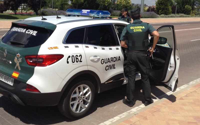 La Guardia Civil de Rivas detiene a un 'tironero'