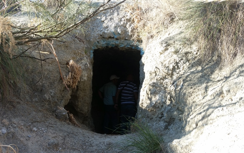 Zona de intervención arqueológica de la batalla del Jarama en el Parque Regional del Sureste (Fuente: Diario de Rivas)