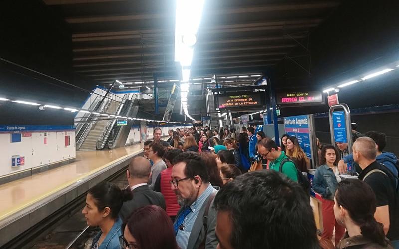 El Metro de Rivas cierra hasta el 1 de septiembre al comenzar la segunda fase de obras de la línea 9b