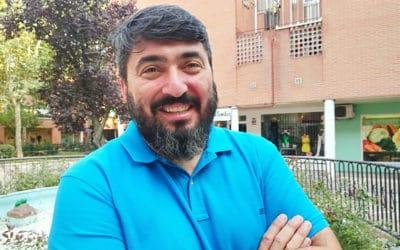 """Andrés Sesmero (Podemos Rivas): """"No hay grandes diferencias entre los programas de IU y Podemos en Rivas"""""""