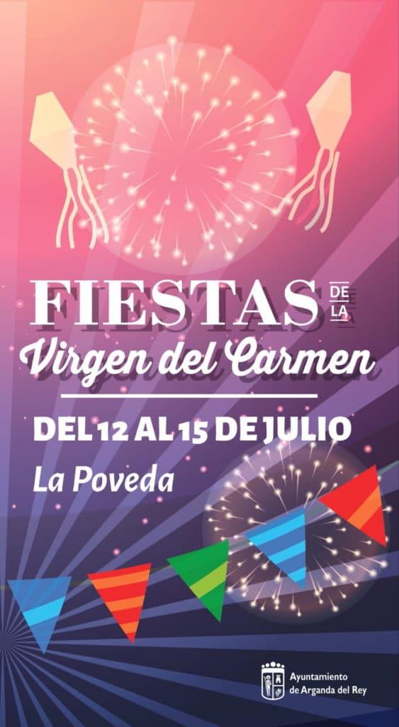 Cartel de la Virgen del Carmen