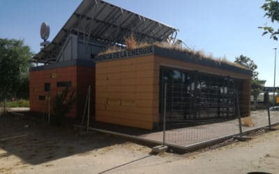 El Ayuntamiento de Rivas derribará la Casa Solar de la Plaza Ecópolis