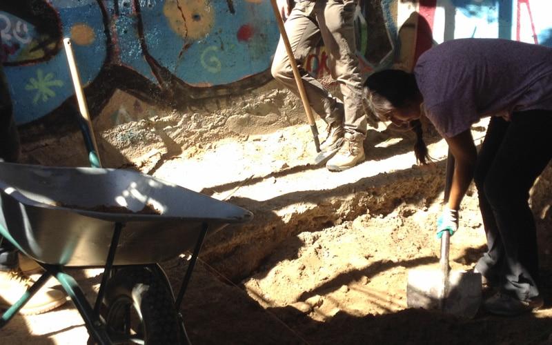 Excavación arqueológica en la Casa de Peña Blanca (Fuente: Diario de Rivas)