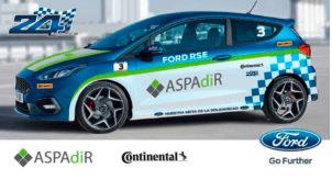ASPADIR hace pódium con un tercer puesto en la XV edición de 24 Horas Ford 2018