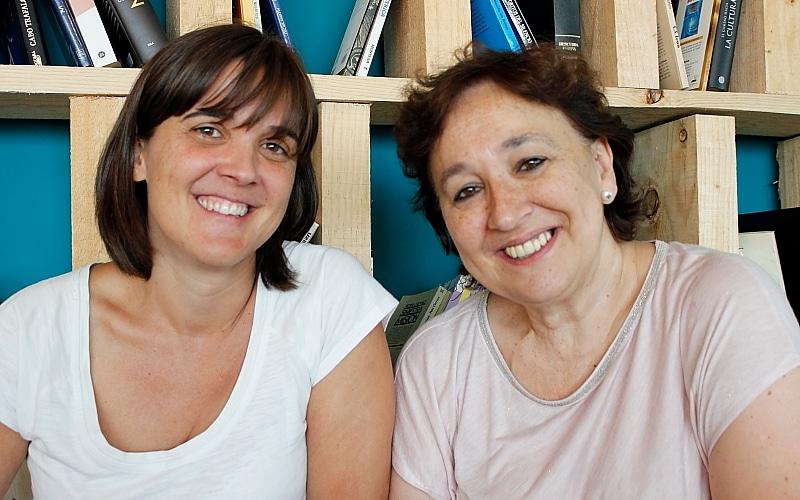 Gema López y Maribel Banco, voluntarias de la AECC en Rivas. Imagen: Diario de Rivas.