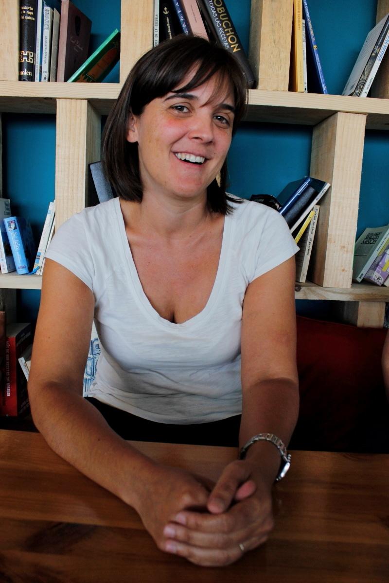 Gema López, presidenta de la junta local de Rivas de la AECC. Imagen: Diario de Rivas