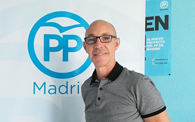 Dimite el presidente del PP de Rivas Vaciamadrid, Pablo Lira