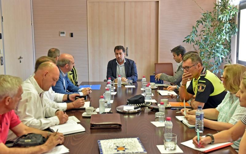 Reunión de coordinación entre las policías de Rivas y Madrid para la seguridad en la Cañada Real