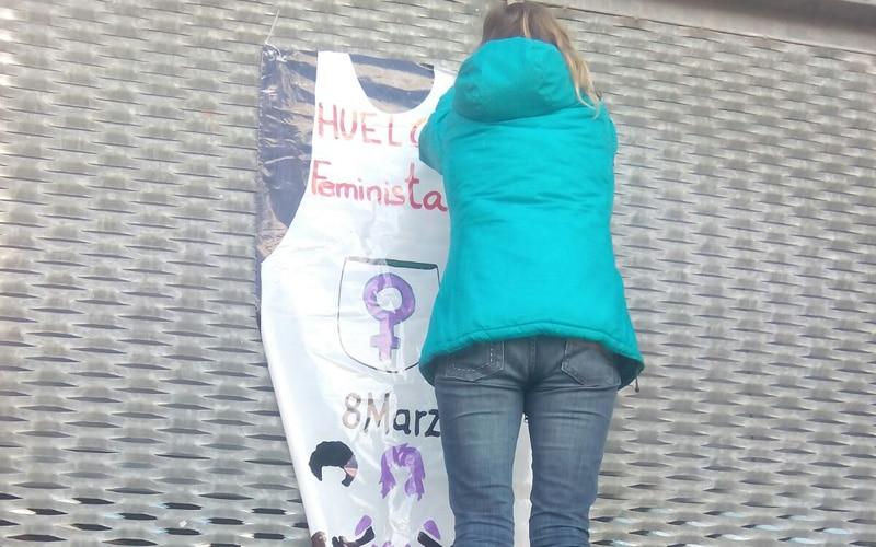 Llamamiento a la huelga del 8 de marzo de 2018 en Rivas