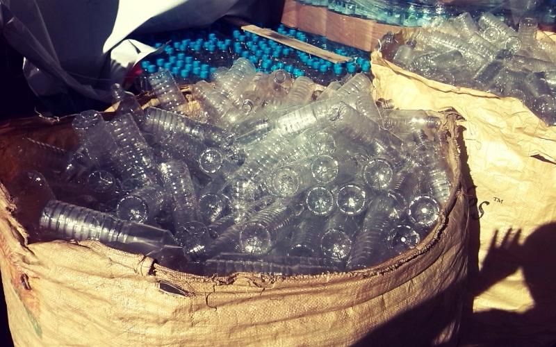 Botellas plástico. Licencia CC